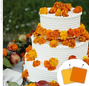 Orange + Yellow > See more orange wedding details > See more yellow wedding details > See more orange and yellow wedding details