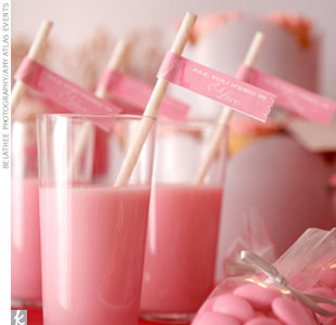 Dessert Table Theme #1: A Pretty Pink and Gray Dessert Table