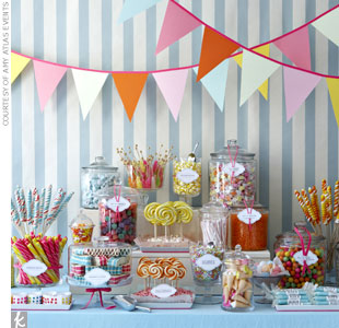 Dessert Table Theme #4: A Vintage Candy Store Theme 