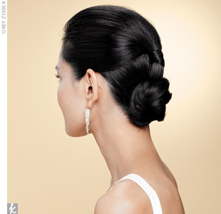 hi-low updo