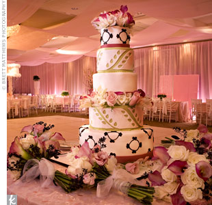 Five-Tiered Wedding Cake