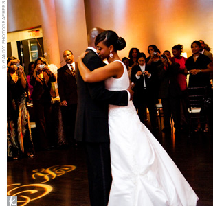 "Kimberly and Kenny shared their first dance to one of their favorite love songs, ""You"" by Tonex."