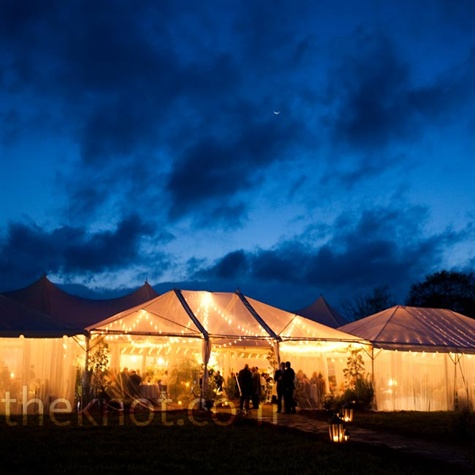 Outdoor Evening Reception