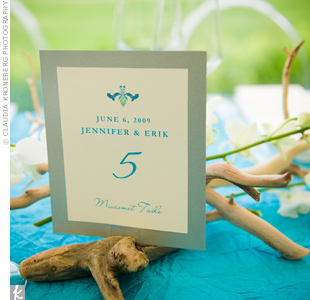 Beach-Themed Tables