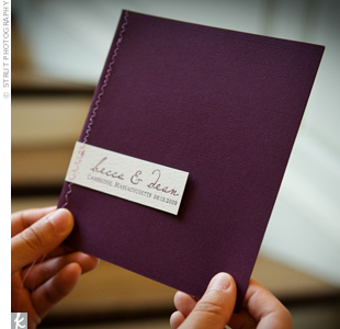 Purple Ceremony Programs