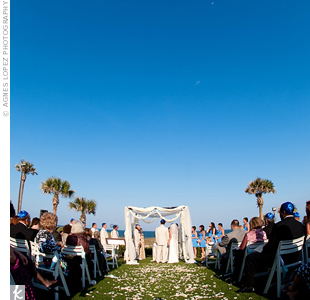 Oceanfront Wedding Ceremony