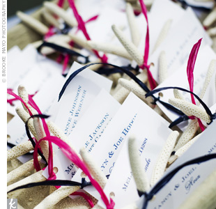 Starfish Escort Cards