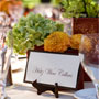 Green and Orange Centerpieces