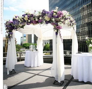 Hydrangea Ceremony Decor