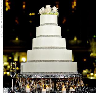White Crystal Cake