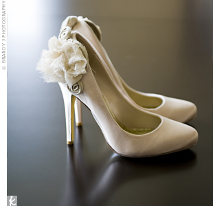 Champagne Bridal Shoes