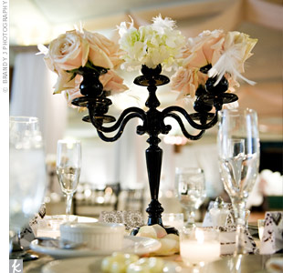 Black Candelabra Decor