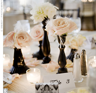 Rose Reception Decor