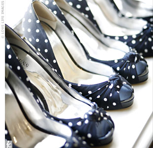 Polka Dot Bridesmaid Shoes