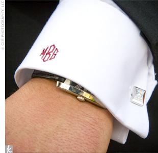 Monogrammed Formalwear