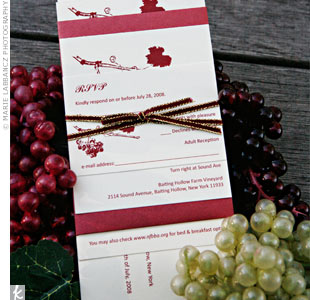 Grapevine Invitations