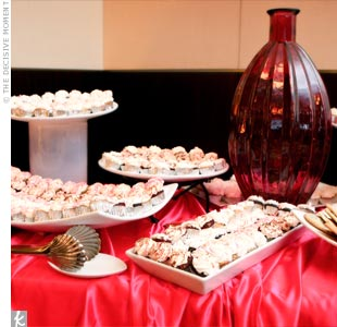 Guests helped themselves to scrumptious desserts and the Dreamy Gelato station.