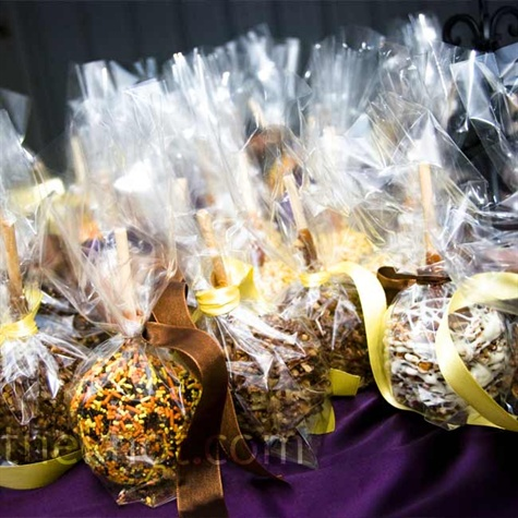 Caramel Apple Wedding Favors