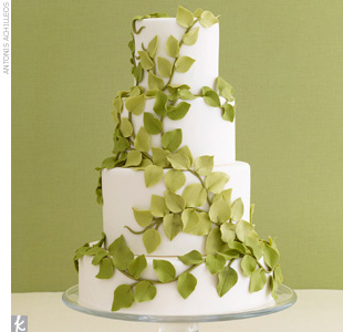 Earthy Wedding Cakes
