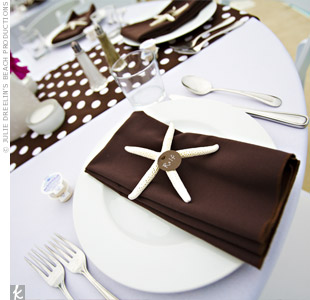 Brown and White Decor