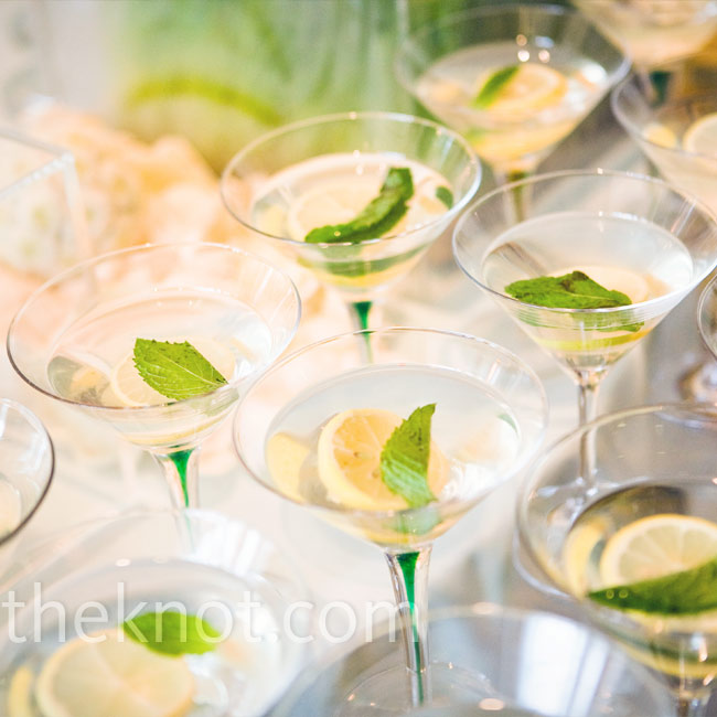Guests sipped cucumber martinis, champagne, and lemonade while the Denver String Quartet played classic rock tunes in the background.