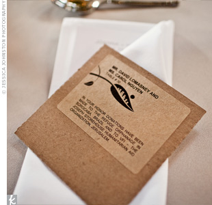 Charitable Wedding Favors