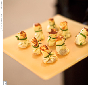 Melons Catering & Events served delicious and unique bite-sized treats.