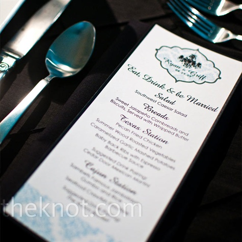 Pattern Menu Cards