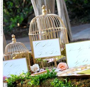 Birdcage Guest Book