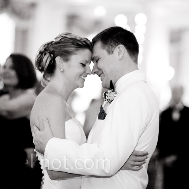 "For their first dance, Lindsay and Michael chose ""The Heart of Life"" by John Mayer. Based on the first few lines, many of their guests were confused about why they had chosen the song but overall it's about how love and friends help you make it through anything."