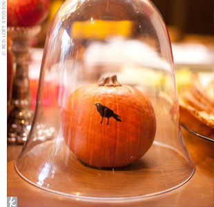 Pumpkin Reception Decor