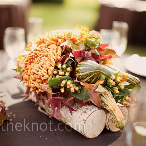 Autumn Floral Centerpieces
