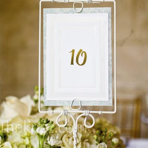 Vintage Table Numbers Vintage Table Numbers