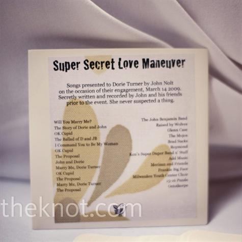 CD Wedding Favor