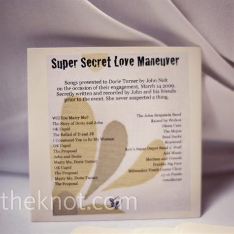 CD Wedding Favor