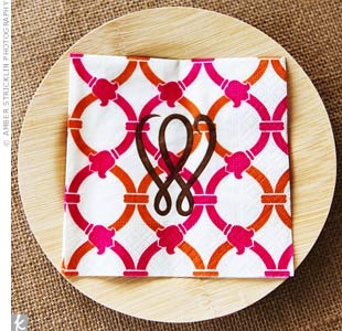 Pink and Orange Napkins