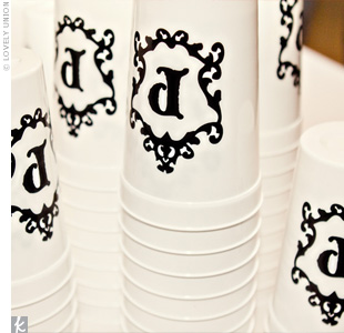 DIY Cup Favors