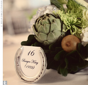 Artichoke Wedding Centerpieces