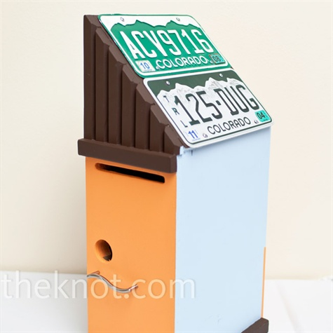 Birdhouse Card Box