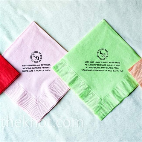 Persnickety image with printable wedding napkins