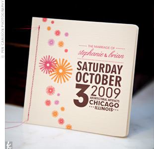 Starburst Wedding Programs