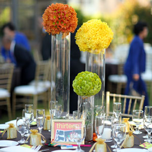 Pomander Wedding Centerpieces