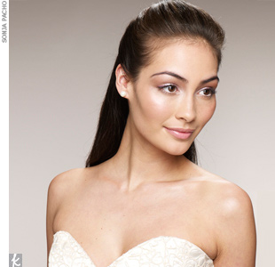 Sleek Half-Updo