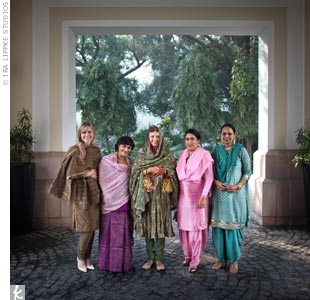 Traditional Bridal Party