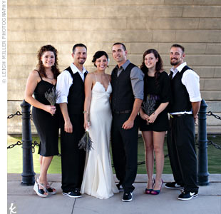 Modern Bridal Party Attire