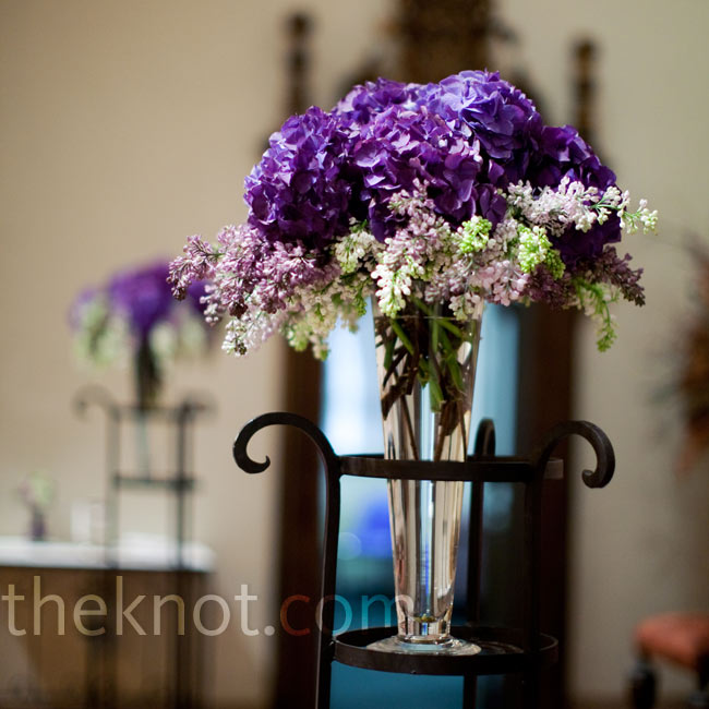Purple Wedding Altar Flowers: 301 Moved Permanently