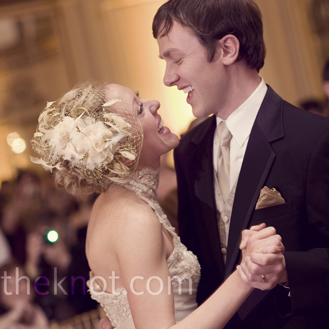 "For their first dance, the DJ played Shannon and Steve's song, ""If I Can't Have You"" by Etta James."