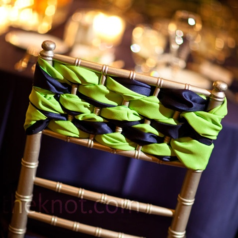 Green and Navy Decor