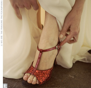 Ruby Bridal Shoes