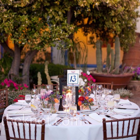 Spanish-Style Reception Decor